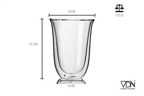 Dubbelwandige glazen 300ml 2