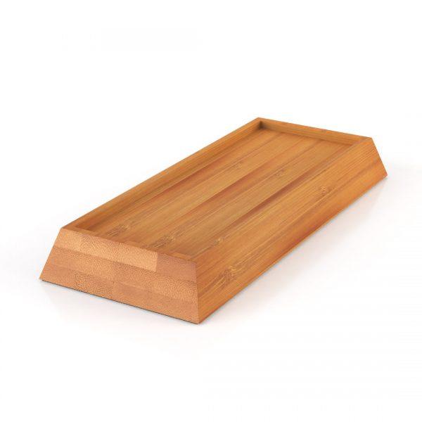 Wetsteen houder bamboe